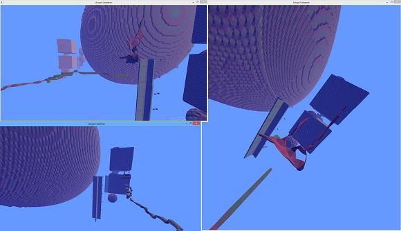 Avoyd screenshot - multiplayer editing