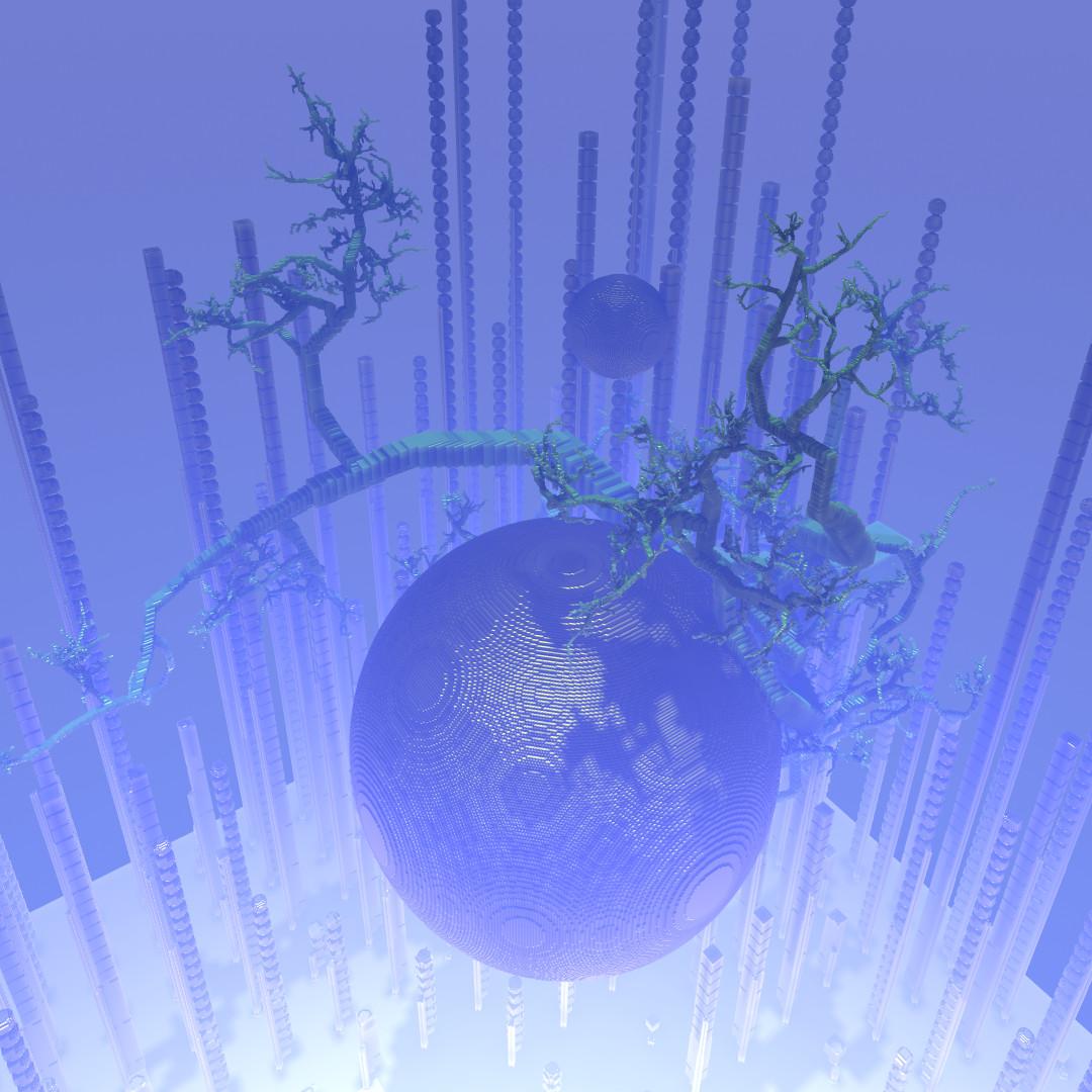 Avoyd procedural voxel tree experiment