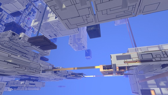 Procedural generation in Avoyd: deforming boxes, adding bridges and metal rooms