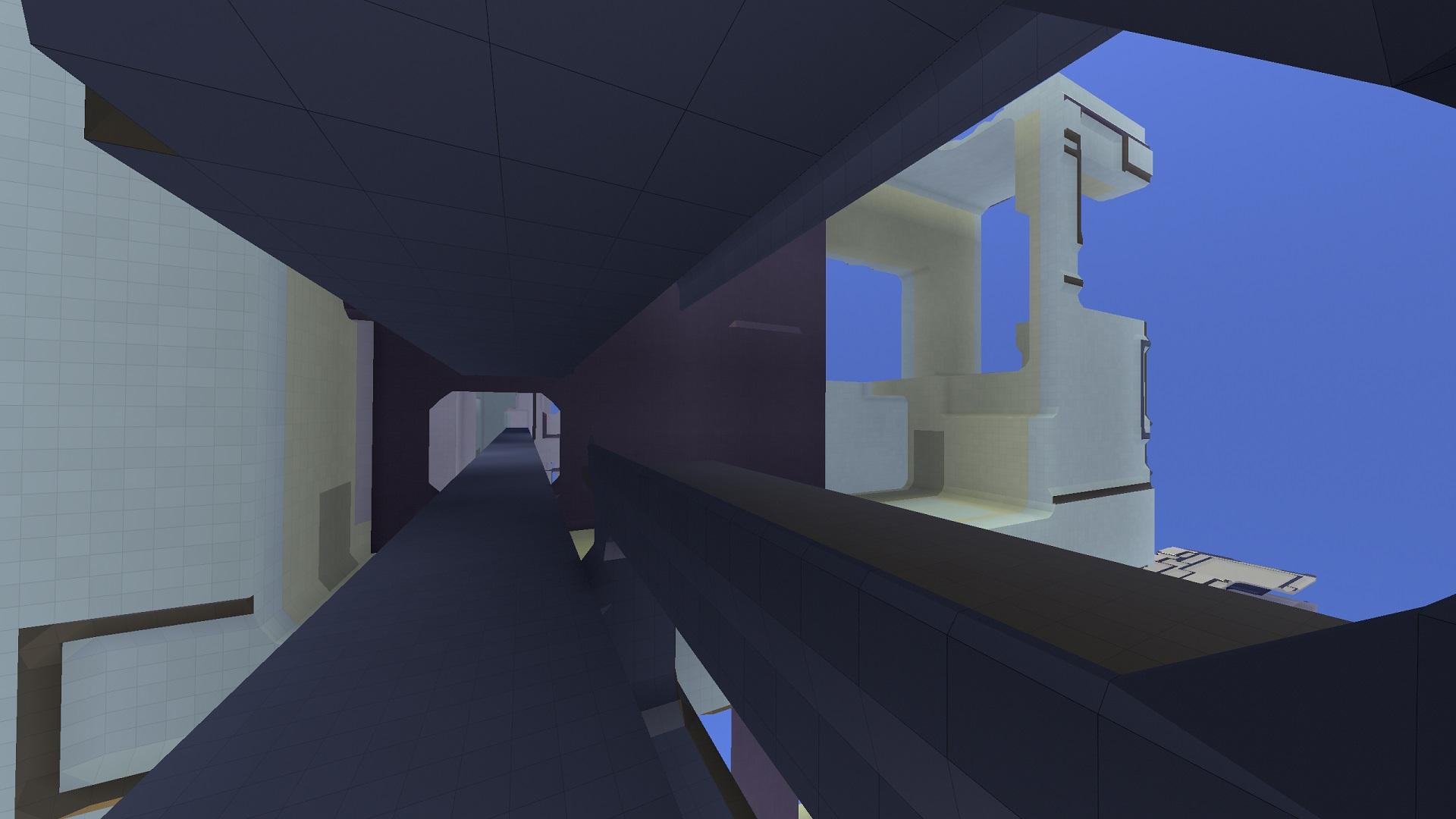 Avoyd voxel game prototype screenshot