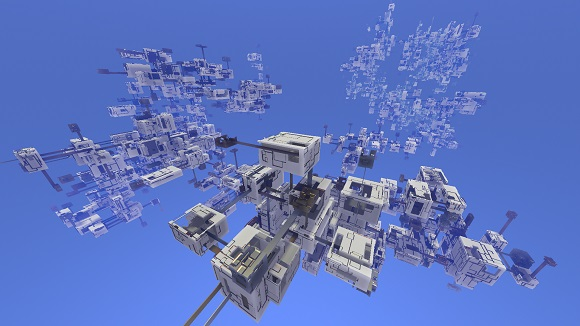 Procedural generation in Avoyd: grouping boxes into clusters